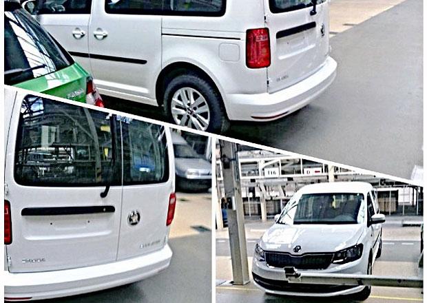 Škoda Roomster II: Známe podobu mladoboleslavského bratra VW Caddy