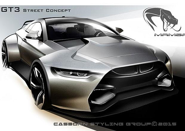 BMW M4 Coupé se proměňuje v Mamba GT3 Street Concept