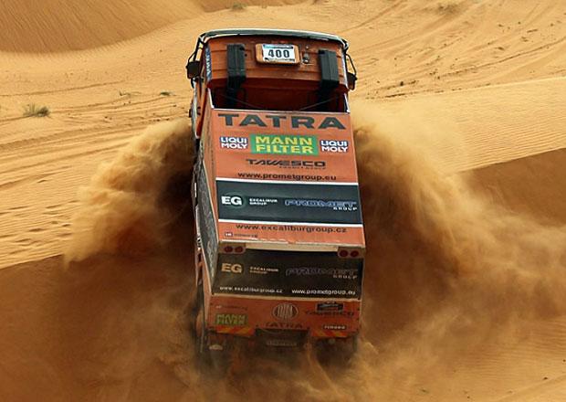 Tatra opět na Africa Eco Race