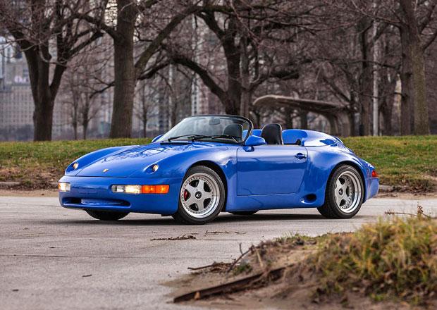 Vzácné Porsche 911 Strosek Mega Speedster míří do aukce