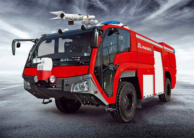 Magirus a jeho letištní hasičské speciály Dragon X4, X6 a Superdragon X8
