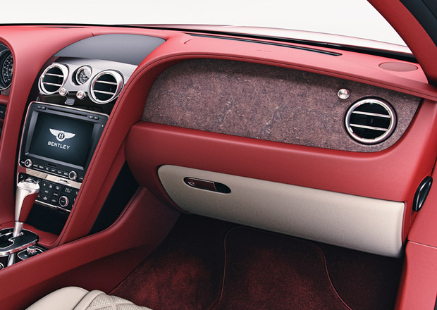 Bentley p�edstavuje oblo�en� z kamene