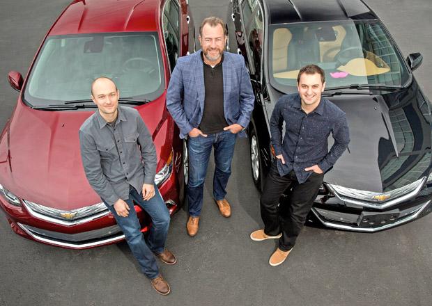 GM se spojila se službou Lyft v alianci pro samořiditelné vozy