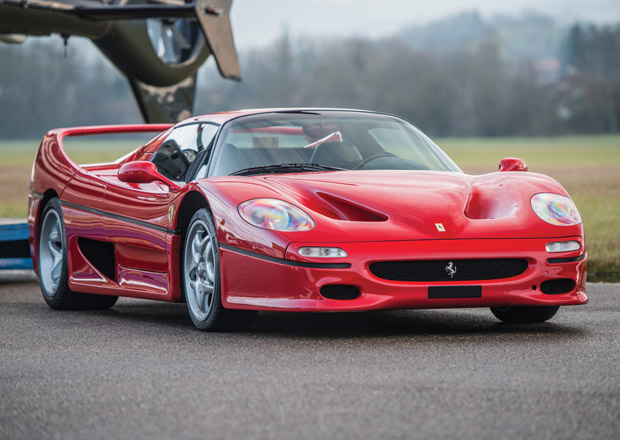 Vzácné Ferrari F50: Exemplář číslo 266 je na prodej v Paříži