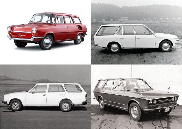 Seriál: Zapomenuté prototypy Škoda. Kombíky, které neznáte!