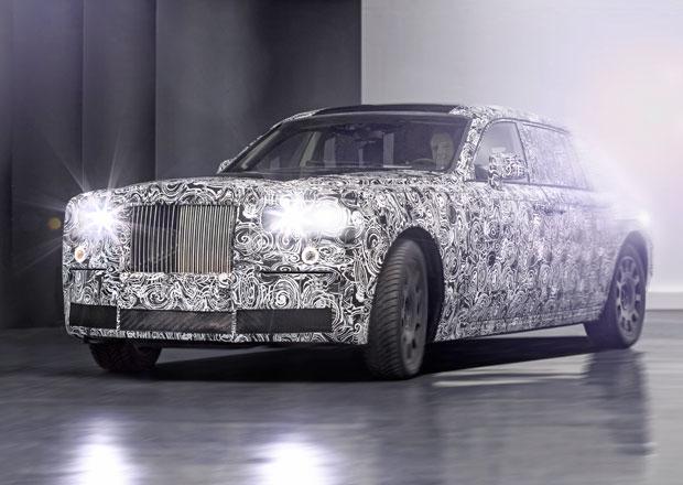 Rolls-Royce pracuje na nové hliníkové platformě, použije ji nový Phantom i chystané SUV