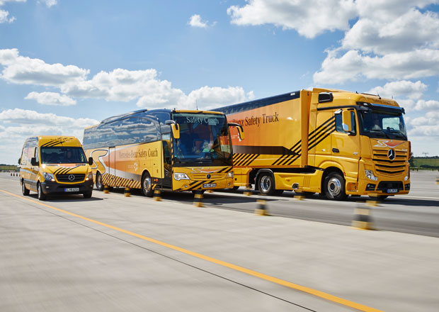 Daimler a bezpečnost: S velkým předstihem