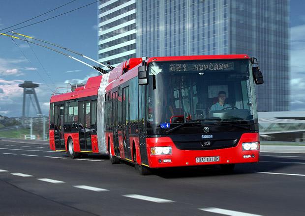 Trolejbusy �koda 31 Tr pro Pre�ov