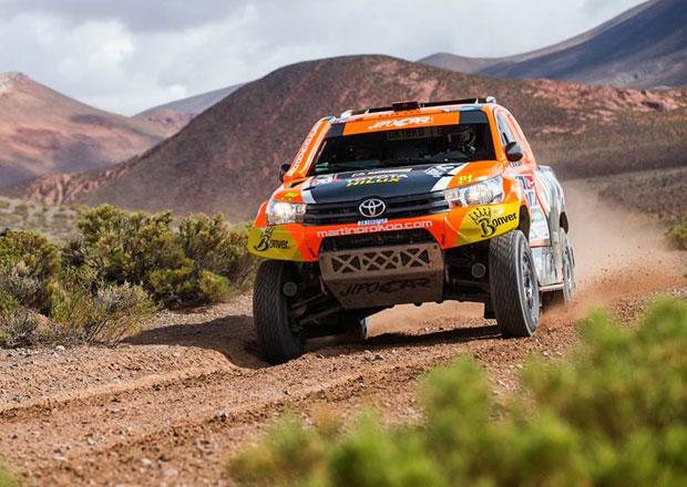 V�sledkov� servis Rallye Dakar: 4. etapa - Triumf Peugeotu, Prokop p�evr�til auto
