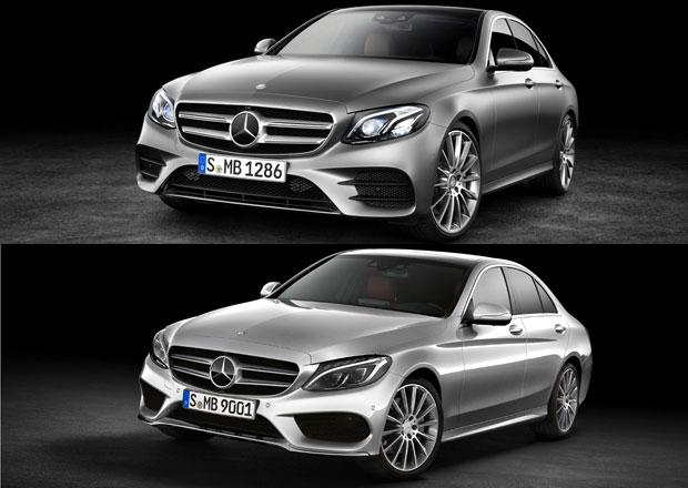 Designov� duel: Mercedes-Benz C a E: Pozn�te v�bec nov� ��ko?