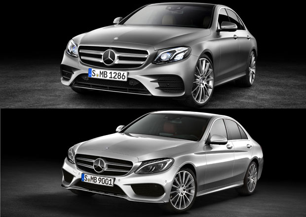 Designový duel: Mercedes-Benz C a E: Poznáte vůbec nové éčko?