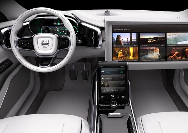Volvo S90 bude standardn� vybaveno bezpilotn�m ��zen�m