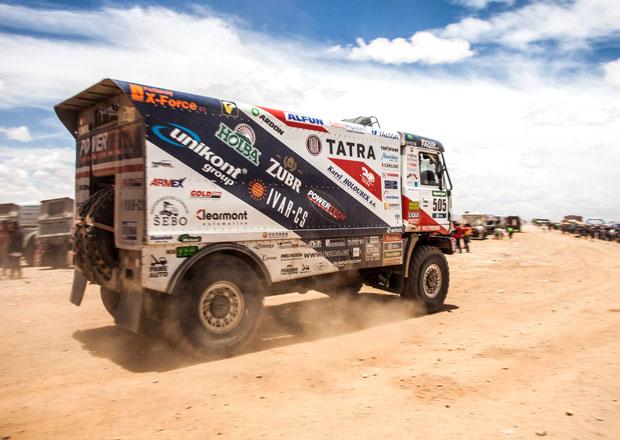 V�sledkov� servis Rallye Dakar: 5. etapa - Kolom� druh�, Loprais skon�il