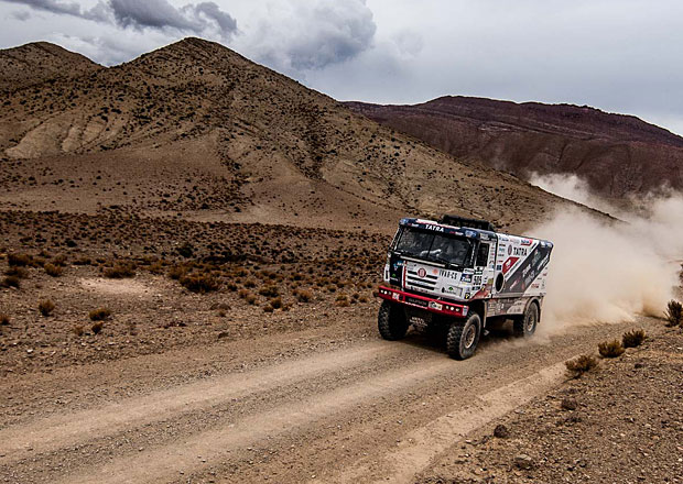 Jak se na Dakaru projevuje nadmo�sk� v�ka? Motory ztr�cej� klidn� 30 % v�konu!