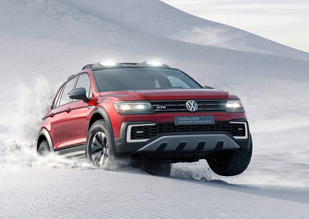 VW Tiguan GTE Active: Koncept drsného SUV umí být zadokolkou