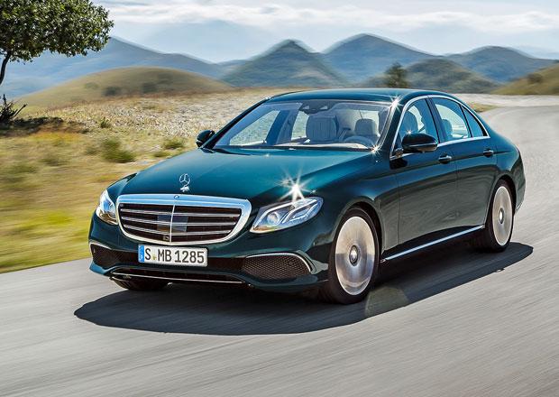 Mercedes-Benz E: Nová generace teď už oficiálně