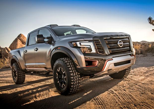Nissan Titan Warrior Concept je velký a zlý pick-up (+video)