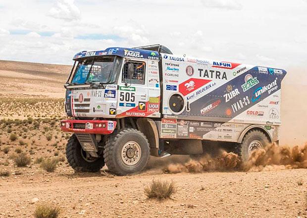 Dakar živě: Devátá etapa byla očistec, prohlásil v cíli Jaroslav Valtr