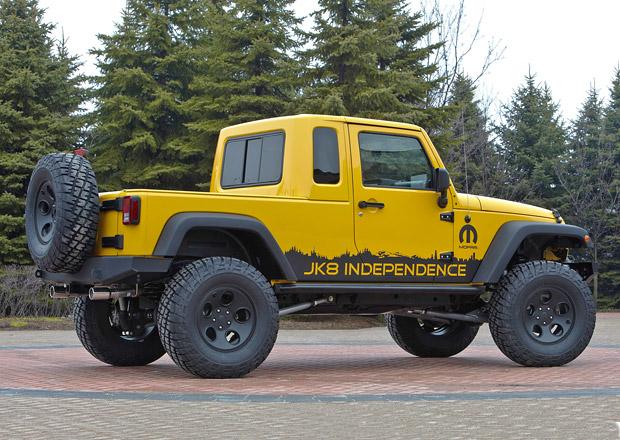 Jeep rozšíří svou nabídku o pick-up