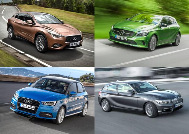 Luxusní značky v roce 2015: Mercedes předstihl Audi a dohání BMW