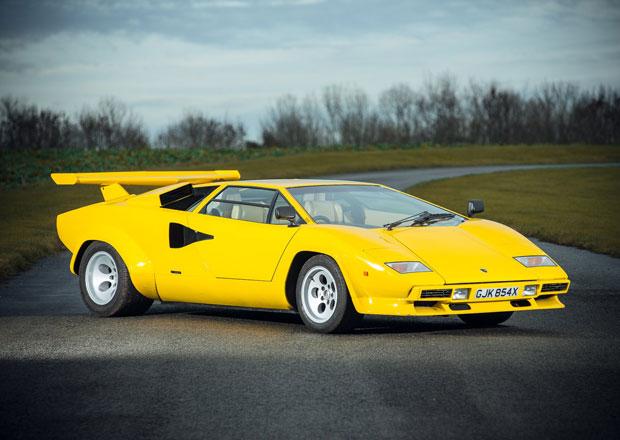 Žluté Lamborghini Countach: Osmdesátkový sen na prodej