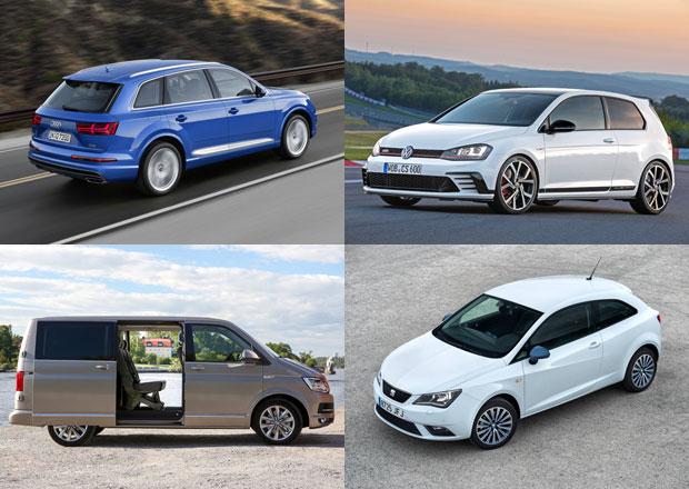 Audi, Seat i VW hlásí na českém trhu rekordní prodeje. Co chystají pro rok 2016?