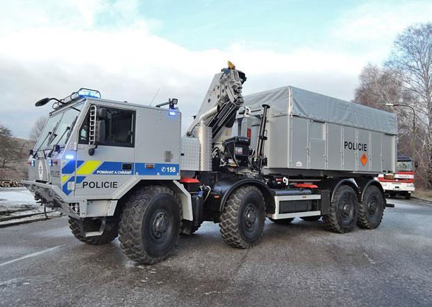 Tatra 815/7 ve službách pyrotechniků
