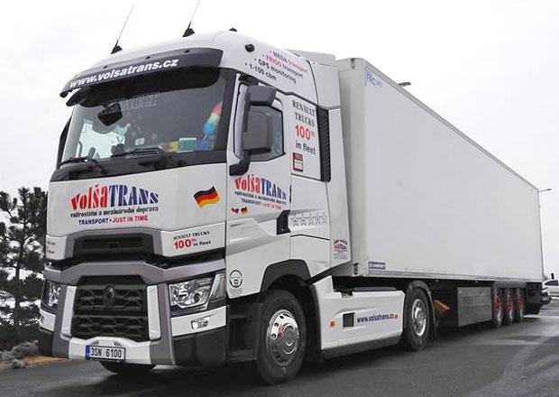 Renault Trucks dodal st� vozidlo pro Vol�aTrans