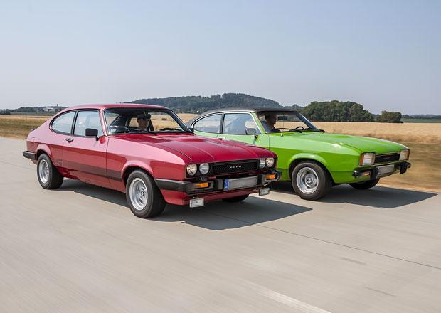 Za volantem Fordů Capri: Vzpomínáte na Profesionály?