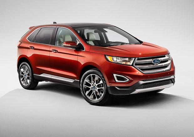 Ford Edge přichází do Evropy, známe jeho české ceny