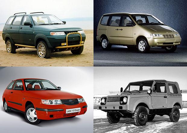 Lada, jak ji neznáte. Pamatujete si elektromobil, MPV nebo kupé?