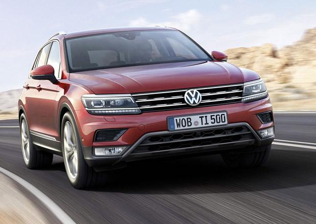 VW Tiguan vstupuje na český trh, zatím jen se dvěma motory
