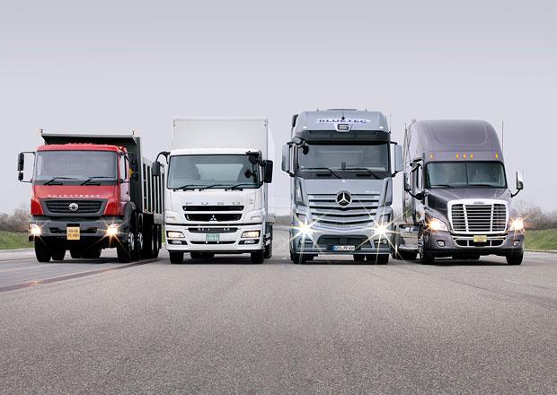 Daimler Trucks: Přes půl milionu prodaných vozidel za rok 2015