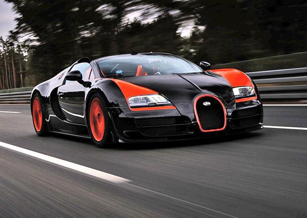 Rekordní Bugatti Veyron 16.4 Grand Sport Vitesse na prodej