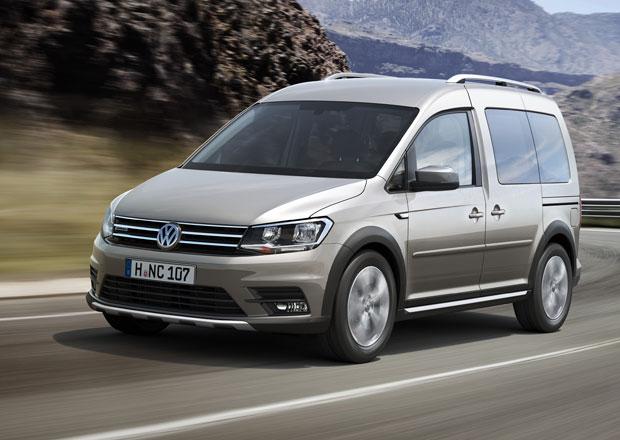 Volkswagen svolává do servisů 67.000 dodávkových aut Caddy
