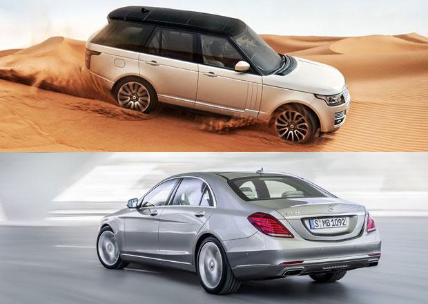 Jaké vozy mají nejloajálnější zákazníky? Range Rover a Mercedes S