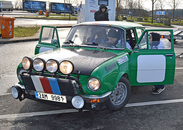 Deník Czechs4Monte: Cestou do Bad Homburgu začala Rallye Monte Carlo Historique