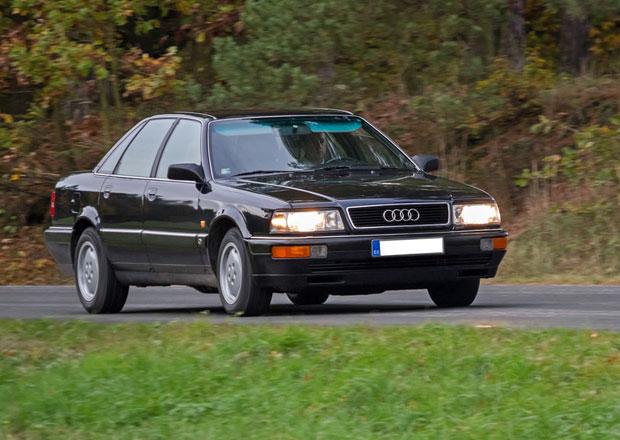Za volantem Audi V8: Pokus ��slo t�i