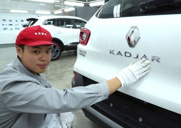 Renault expanduje v Číně, bude tam vyrábět upravený Kadjar
