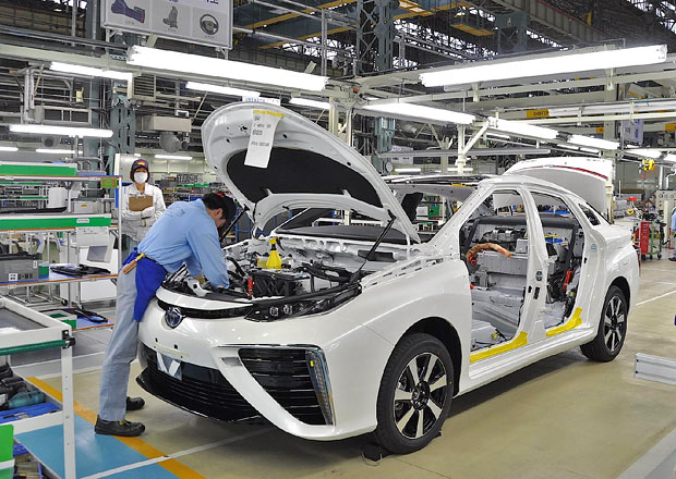 Toyota zastaví výrobu v japonských továrnách. Došla ocel...