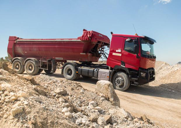 Renault Trucks �ady C s pohonem v�ech kol Optitrack (+video)