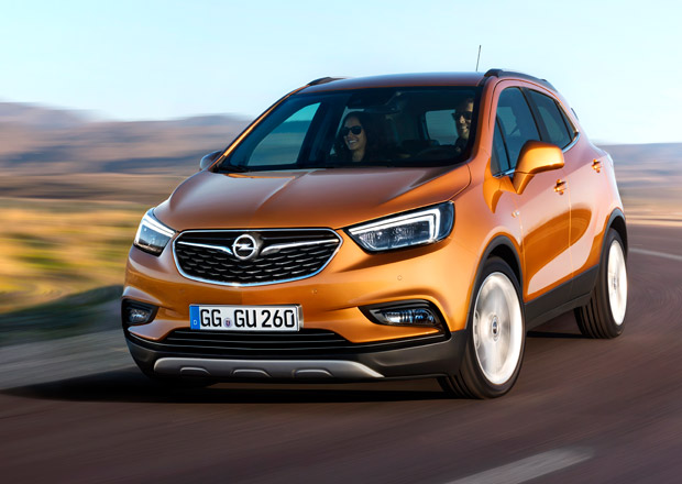 Opel Mokka X je modernizované SUV s novou přídí a 1.4 Turbo z Astry