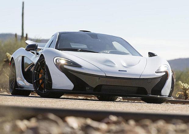 McLaren P1: Poslední americký exemplář vydražen za 50 milionů