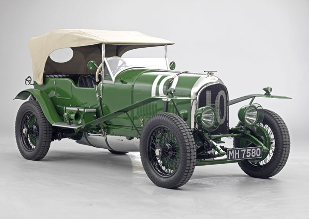 Bentley 3 Litre: Prvn� tov�rn� ��astn�k 24 hodin Le Mans