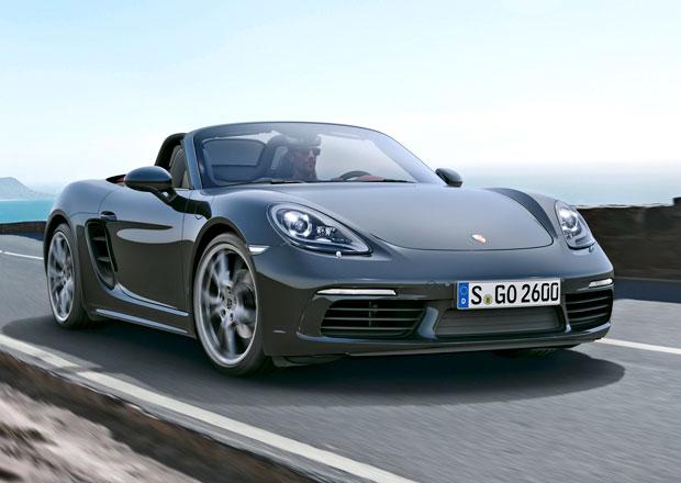 Porsche 718 Boxster: Čtyři válce na českém trhu stojí 1,54 milionu Kč