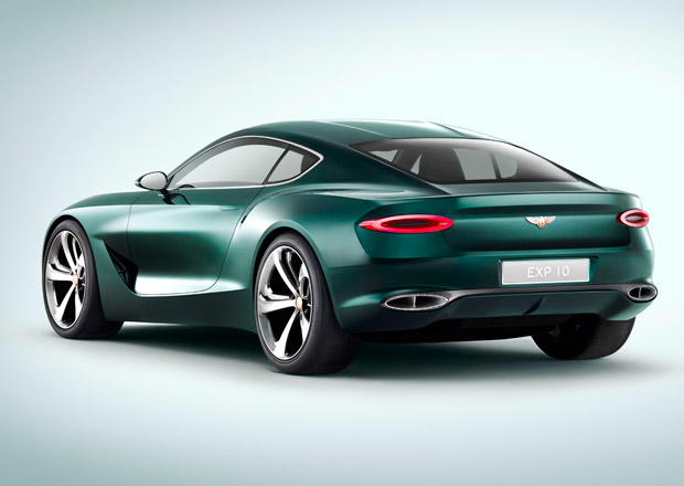 Bentley Bentayga Coupe bude vypadat jako EXP 10 Speed 6