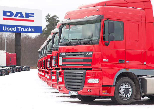 DAF Used Trucks Centre ve Varšavě