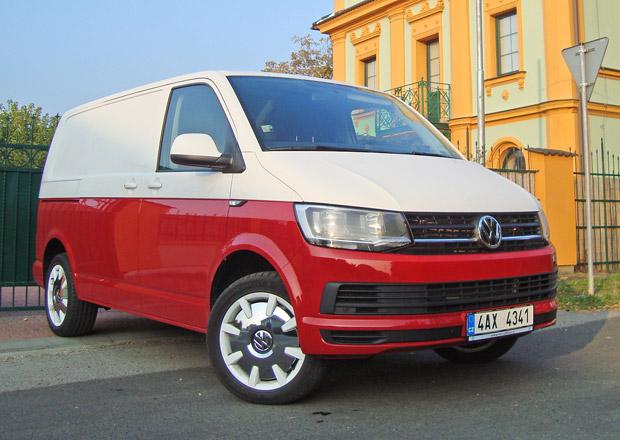 Volkswagen Transporter T6 Van 2.0 TDI: Podstatné i fajnové