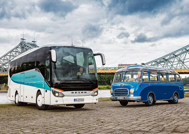 60 let klubových autobusů Setra: Luxus pro týmy