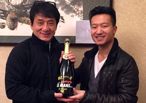 Jackie Chan se objev� v Le Mans
